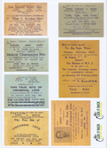 60's Dance Flyer Stickers